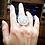 Thumbnail: Silver MOMENTOS mandala ring