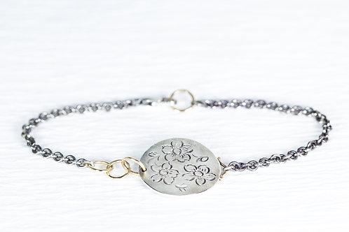 MOMENTOS round chain bracelet