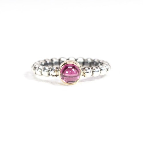Cabochon stackable SOLO gemstone ring