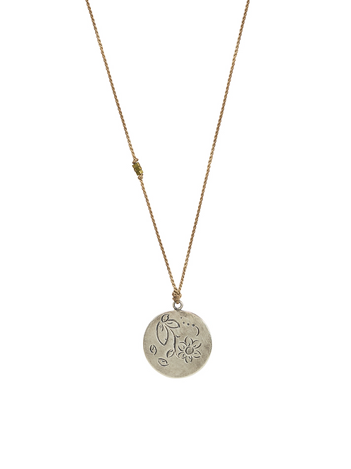 Seta mini MOMENTOS minimal necklace round