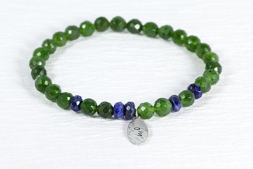 Jade/sodalite TOKEN bracelet