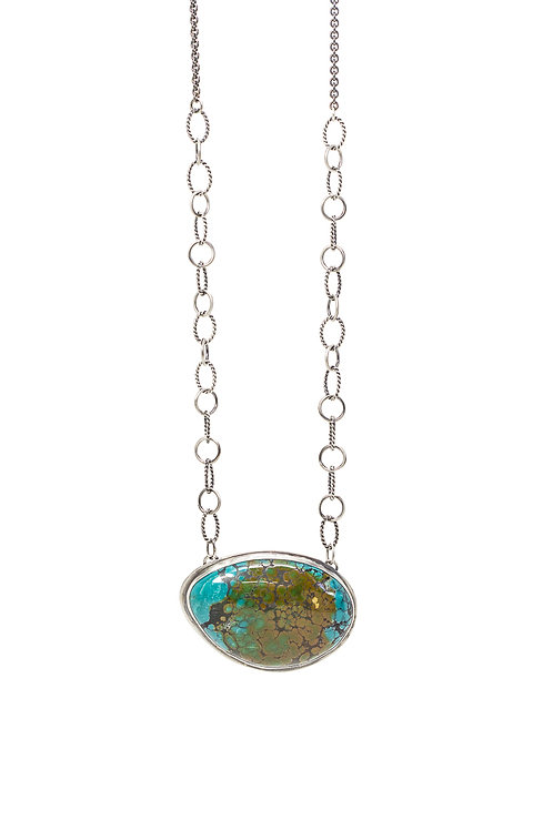 One of a kind JUNGLE long pendant necklace