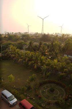 view from hotel deepak