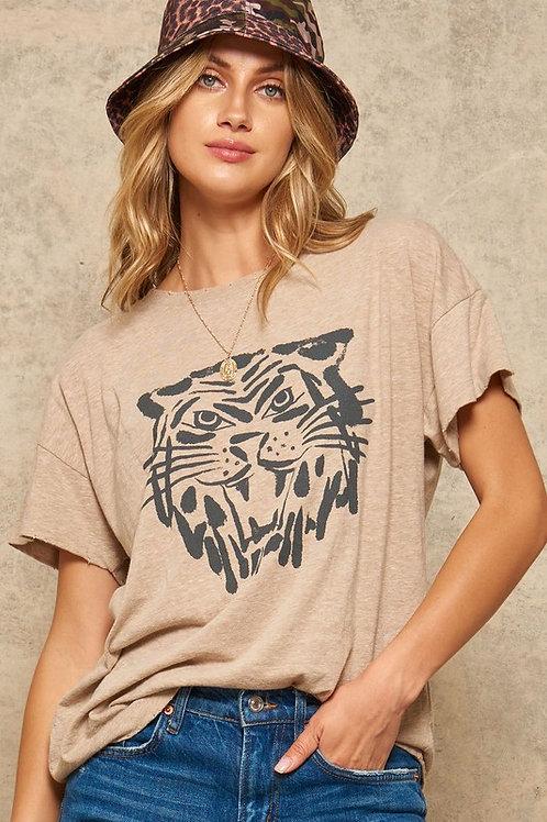 Vintage Style Tiger T-Shirt