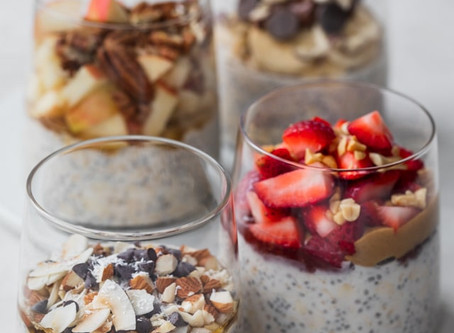 EARLY MORNING CHIA!                      PLAN YOUR BREAKFAST-OVERNIGHT OATS