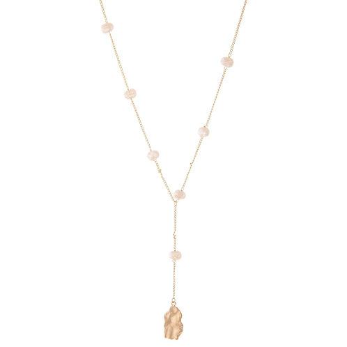 Pearl Nugget Y Necklace