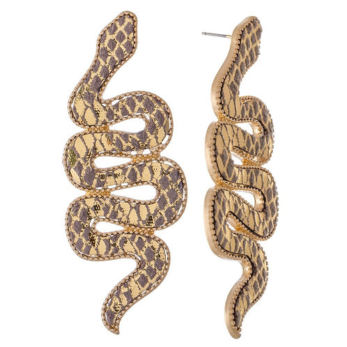 Statement Snake Earrings