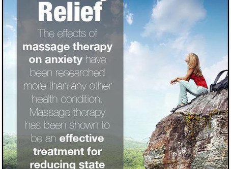 Anxiety & Massage therapy