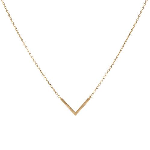 Dainty V Necklace