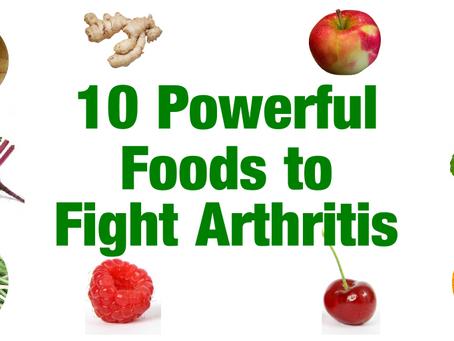 Foods that help Arthritis