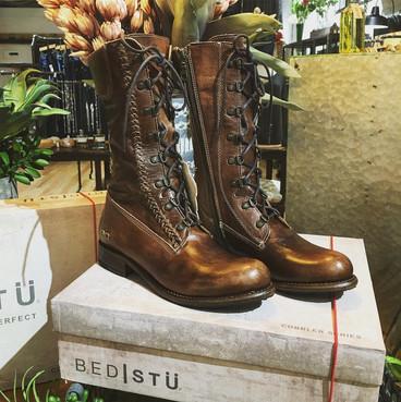 Bed Stu Combat Boots