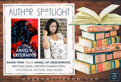 Author Spotlight: Randi Pink talks ANGEL OF GREENWOOD