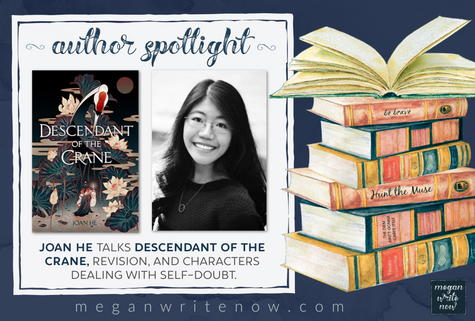 Author Spotlight: Joan He talks Descendant of the Crane