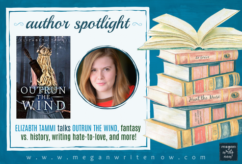 Author Spotlight: Elizabeth Tammi talks Outrun the Wind