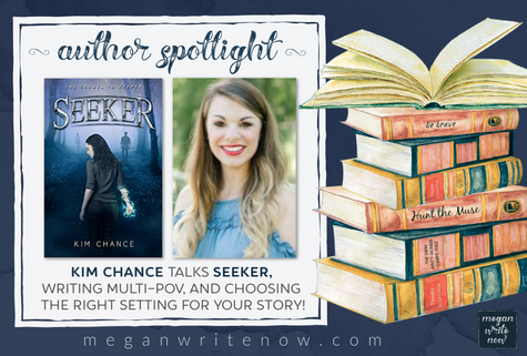 Author Spotlight: Kim Chance talks Seeker + Enter to Win a Signed Copy!
