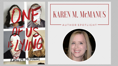 Author Spotlight: Karen M. McManus talks One of Us Is Lying