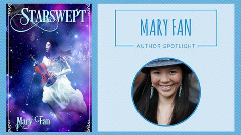 Author Spotlight: Mary Fan talks Starswept