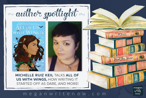 Author Spotlight: Michelle Ruiz Keil talks All of Us With Wings