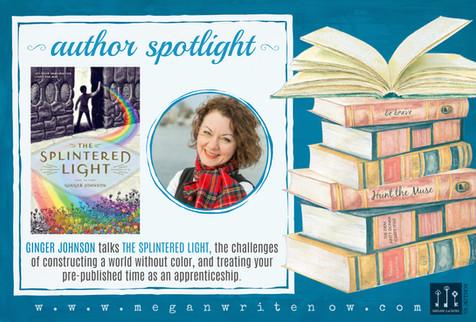 Author Spotlight: Ginger Johnson talks The Splintered Light
