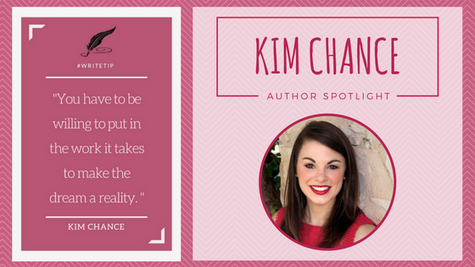 Author Spotlight: Kim Chance talks Critique & Freelance Editing