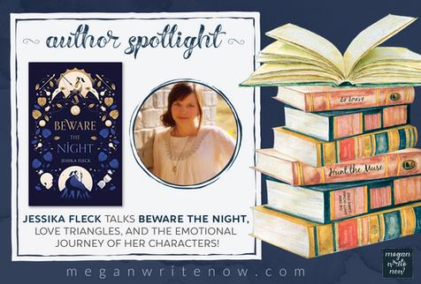 Author Spotlight: Jessika Fleck talks Beware the Night