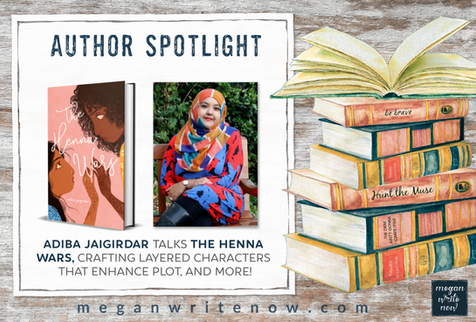 Author Spotlight: Adiba Jaigirdar talks THE HENNA WARS