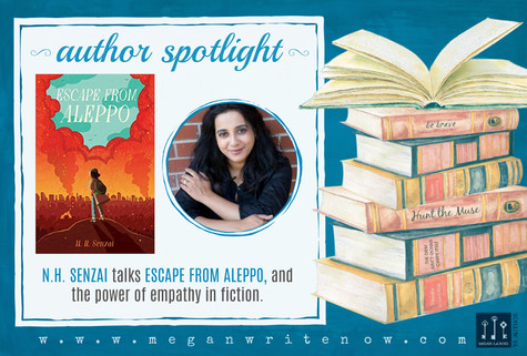 Author Spotlight: N.H. Senzai and Escape from Aleppo