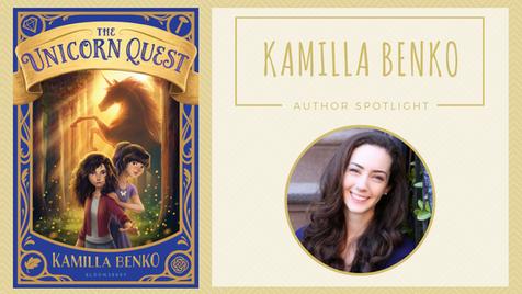 Author Spotlight: Kamilla Benko talks The Unicorn Quest