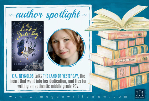 Author Spotlight: K.A. Reynolds talks The Land of Yesterday