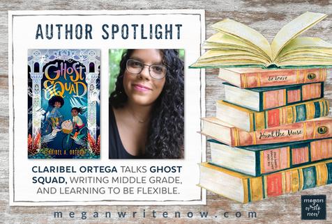Author Spotlight: Claribel A. Ortega talks GHOST SQUAD
