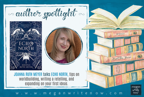 Author Spotlight: Joanna Ruth Meyer talks Echo North