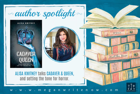 Author Spotlight: Alisa Kwitney talks Cadaver & Queen
