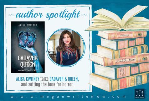 Author Spotlight: Alisa Kwitney talks Cadaver & Queen