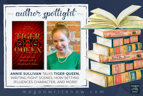 Author Spotlight: Annie Sullivan talks Tiger Queen