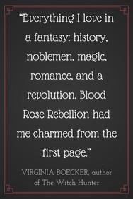 Author Spotlight: Rosalyn Eves Talks Blood Rose Rebellion