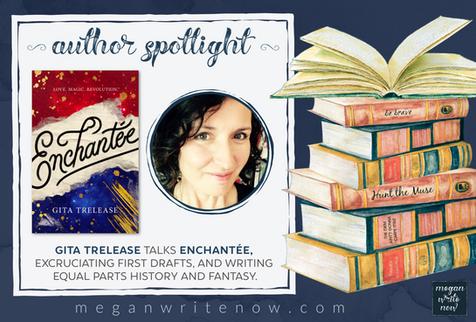 Author Spotlight: Gita Trelease talks Enchantée