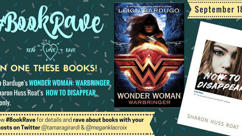Get Raving for #BookRave in September!