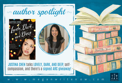 Author Spotlight: Justina Chen talks Lovely, Dark, and Deep + GIVEAWAY!