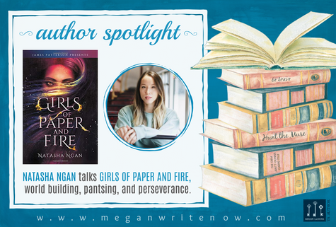 Author Spotlight: Natasha Ngan talks Girls of Paper and Fire