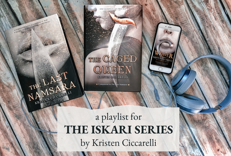 Megan Write Now: Iskari Series Playlist