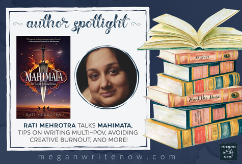 Author Spotlight: Rati Mehrotra talks Mahimata (Asiana #2)