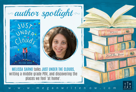 Author Spotlight: Melissa Sarno talks Just Under the Clouds