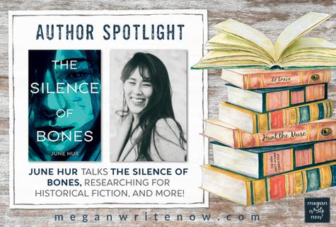 Author Spotlight: June Hur talks THE SILENCE OF BONES