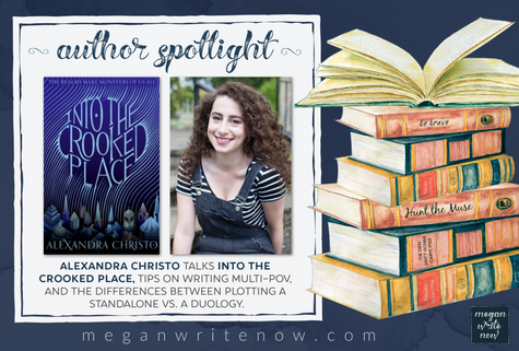 Author Spotlight: Alexandra Christo talks INTO THE CROOKED PLACE
