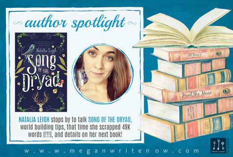 Author Spotlight: Natalia Leigh talks Song of the Dryad