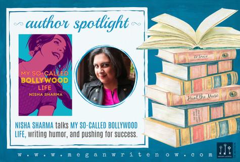 Author Spotlight: Nisha Sharma talks My So-Called Bollywood Life