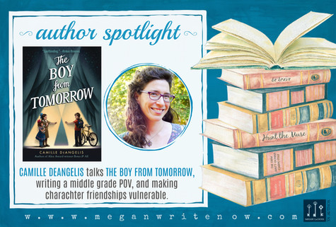 Author Spotlight: Camille DeAngelis talks The Boy From Tomorrow