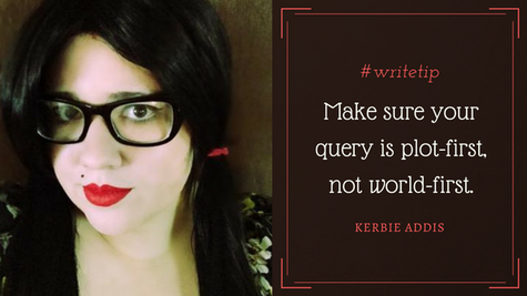 Q&A with Author and Literary Agent Intern, Kerbie Addis
