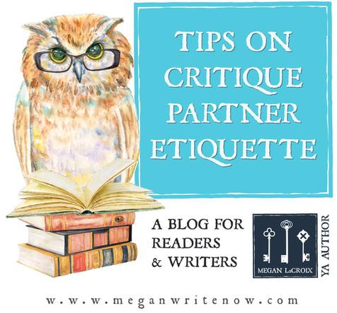 Tips on Critique Partner Etiquette