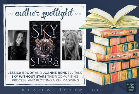 Author Spotlight: Jessica Brody & Joanne Rendell talk Sky Without Stars (System Divine)